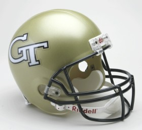 Georgia Tech Yellow Jackets Riddell Deluxe Replica Helmet