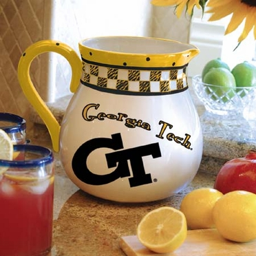 Georgia Tech Gameday Ceramic Pitcher