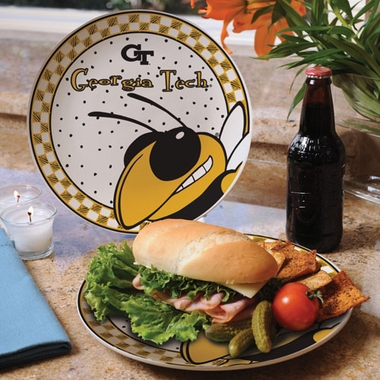 Georgia Tech Gameday Ceramic Plate