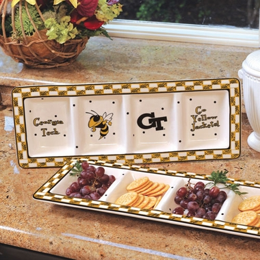 Georgia Tech Gameday Relish Tray