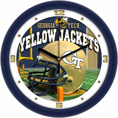 Georgia Tech Helmet Wall Clock