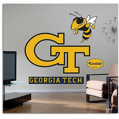 Georgia Tech Logo Fathead Wall Graphic