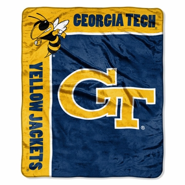 Georgia Tech Plush Blanket