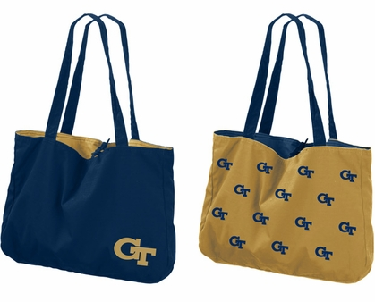Georgia Tech Reversible Tote Bag