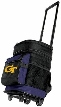 Georgia Tech Rolling Cooler