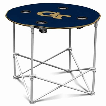 Georgia Tech Round Tailgate Table