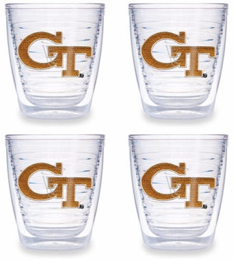 Georgia Tech Set of FOUR 12 oz. Tervis Tumblers