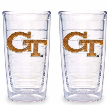Georgia Tech Set of TWO 16 oz. Tervis Tumblers