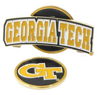 Georgia Tech Slider Clip With Ball Marker