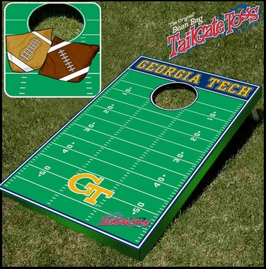 Georgia Tech Tailgate Toss Cornhole Beanbag Game