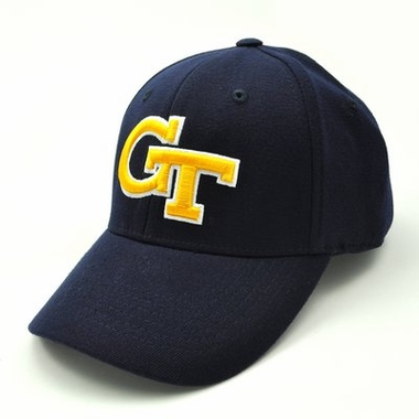 Georgia Tech Team Color Premium FlexFit Hat
