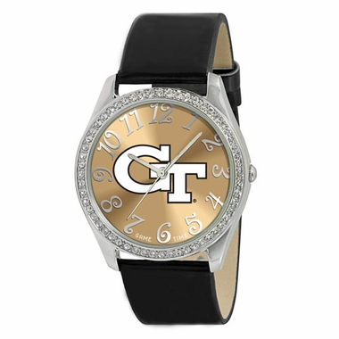 Georgia Tech Women's Glitz Watch