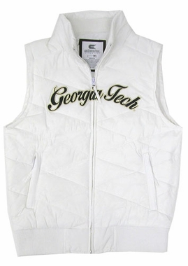 Georgia Tech Womens Bubble Vest