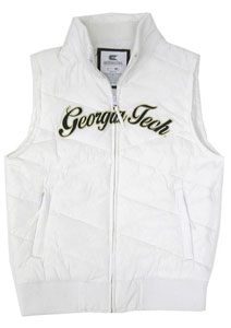 Georgia Tech Womens Bubble Vest - Medium