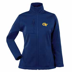 Georgia Tech Womens Traverse Jacket (Team Color: Navy) - Small