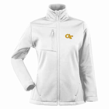 Georgia Tech Womens Traverse Jacket (Color: White)