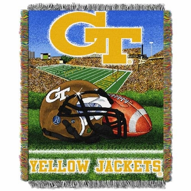 Georgia Tech Woven Tapestry Blanket