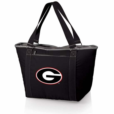 Georgia Topanga Embroidered Cooler Bag (Black)