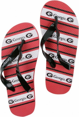 Georgia Unisex Striped Flip Flops