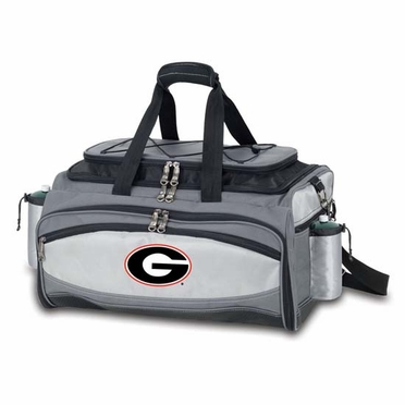 Georgia Vulcan Embroidered Tailgate Cooler (Black)