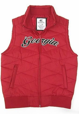 Georgia Womens Bubble Vest
