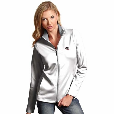 Georgia Womens Leader Jacket (Color: White)