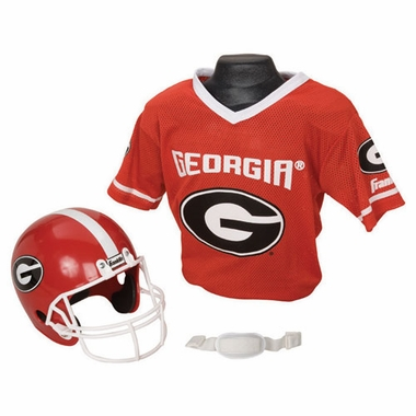 Georgia Youth Helmet and Jersey Set