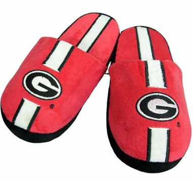 Georgia YOUTH Team Stripe Slide Slippers