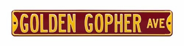 Golden Gopher Ave Street Sign