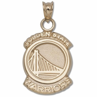 Golden State Warriors 10K Gold Pendant