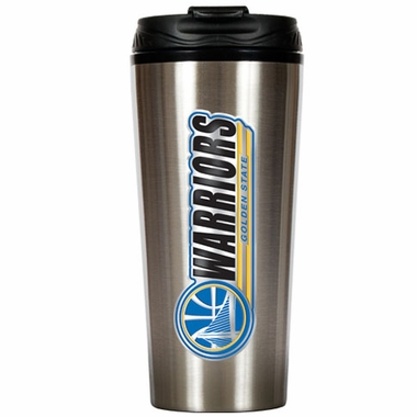 Golden State Warriors 16 oz. Thermo Travel Tumbler