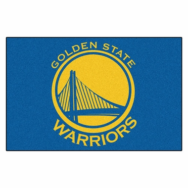 Golden State Warriors 20 x 30 Rug