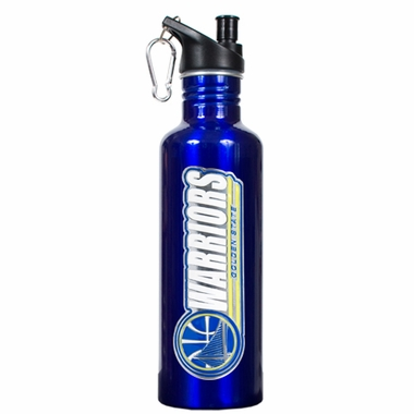 Golden State Warriors 26oz Stainless Steel Water Bottle (Team Color)