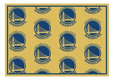 "Golden State Warriors 5'4"" x 7'8"" Premium Pattern Rug"