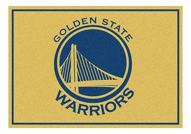 "Golden State Warriors 5'4"" x 7'8"" Premium Spirit Rug"