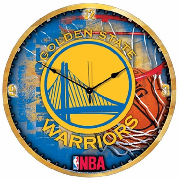 Golden State Warriors Big 18 Inch Hi Definition Clock