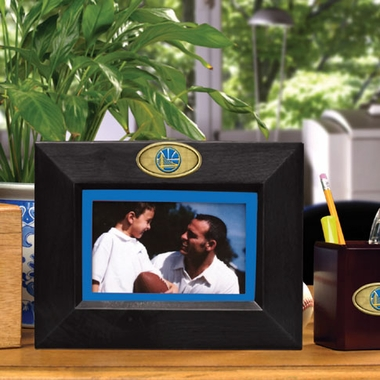 Golden State Warriors BLACK Landscape Picture Frame