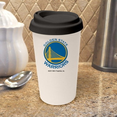 Golden State Warriors Ceramic Travel Cup