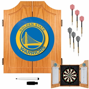 Golden State Warriors Complete Dart Cabinet