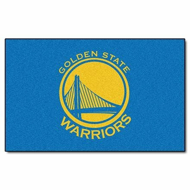 Golden State Warriors Economy 5 Foot x 8 Foot Mat