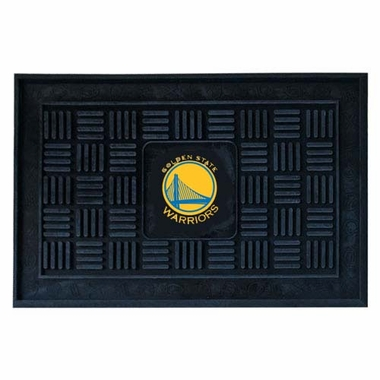 Golden State Warriors Heavy Duty Vinyl Doormat