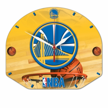 Golden State Warriors High Definition Wall Clock