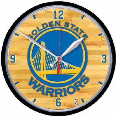 Golden State Warriors Wall Clock