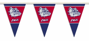 Gonzaga 25 Foot String of Party Pennants (P)