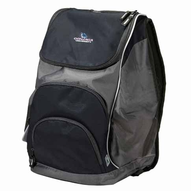 Gonzaga Action Backpack (Color: Black)