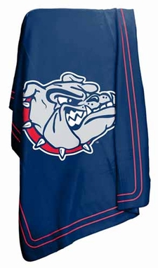 Gonzaga Classic Fleece Throw Blanket