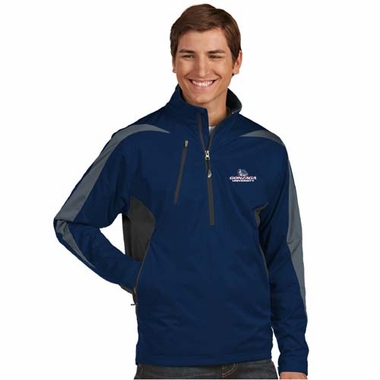 Gonzaga Mens Discover 1/4 Zip Pullover (Team Color: Navy)