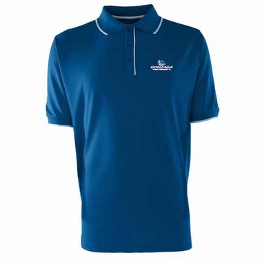 Gonzaga Mens Elite Polo Shirt (Team Color: Royal)