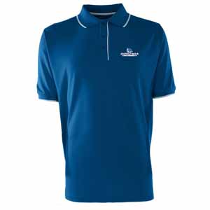 Gonzaga Mens Elite Polo Shirt (Team Color: Royal) - Medium