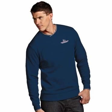 Gonzaga Mens Executive Crew Sweater (Team Color: Navy)